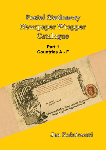 Front Cover for Catalogue of Newspaper Wrappers Part 1