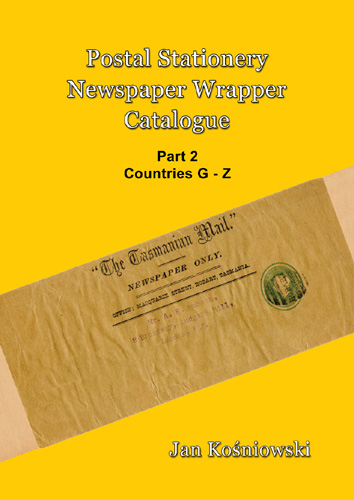 Front Cover for Catalogue of Newspaper Wrappers Part 2