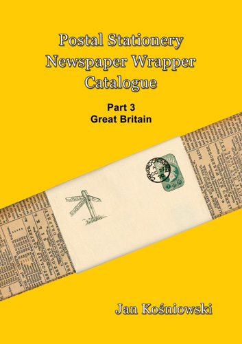 Front Cover for Catalogue of Newspaper Wrappers Part 3