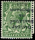 Ireland Eire 1922 overprint stamp