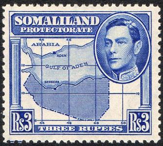 Somaliland 1942 3 Rupees