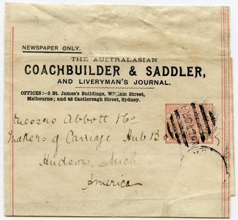 The Australasian Coachbuilder & Saddler