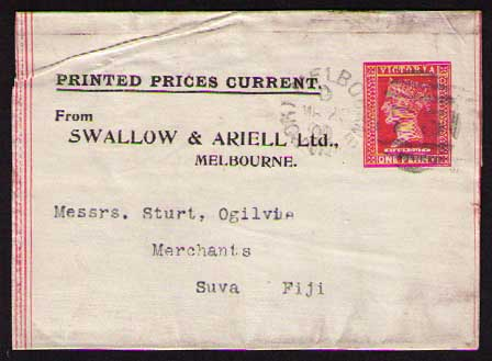 Swallow & Ariell ptpo newspaper wrapper