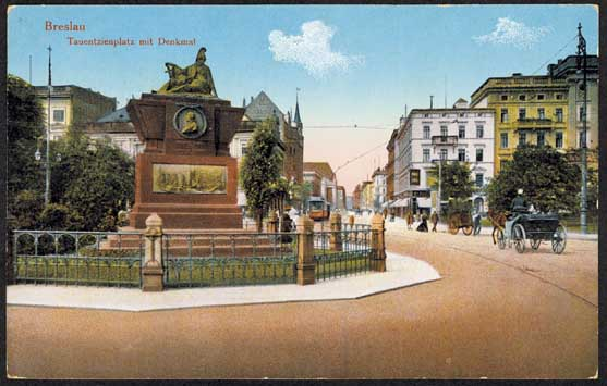 Wroclaw Central Square 1914